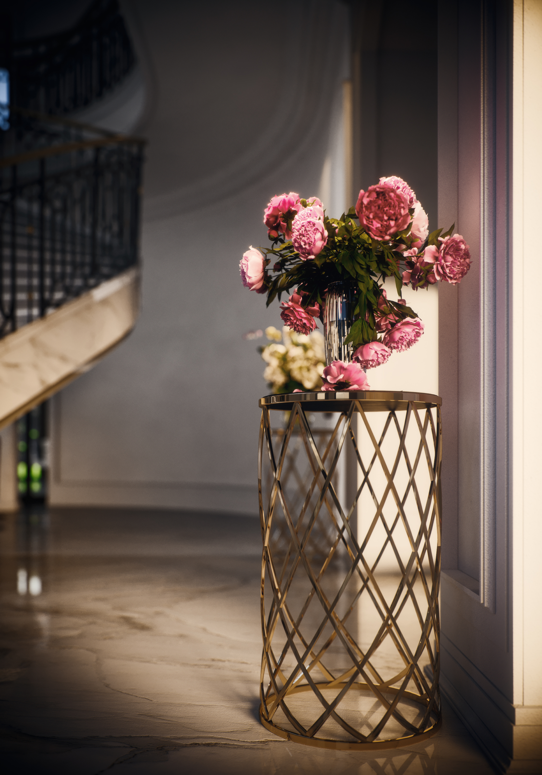 3d-rendering-interior-with-flowers-image