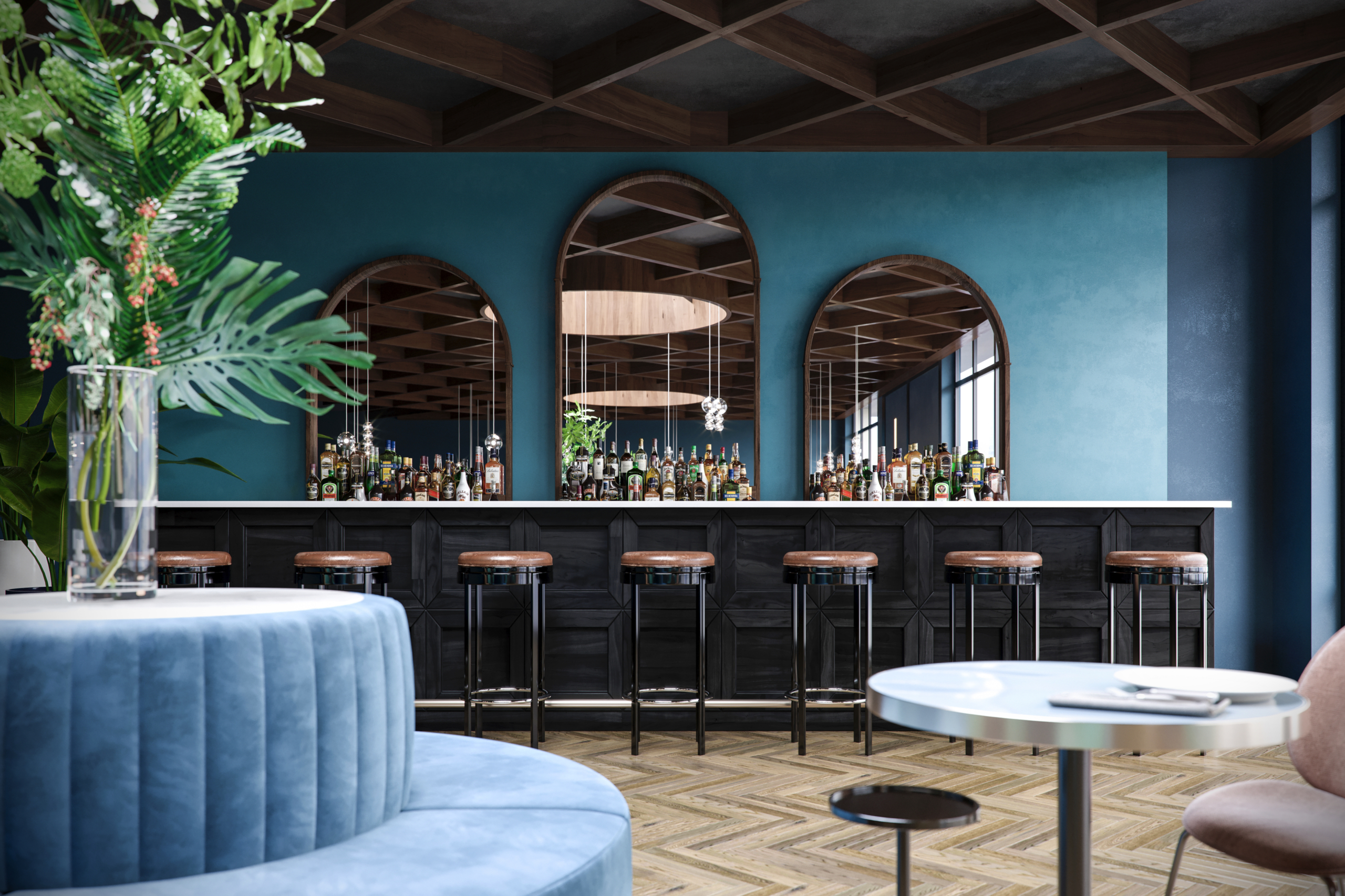 3d-rendering-restaurant-on-the-40-th-floor-new-york-usa-image-2
